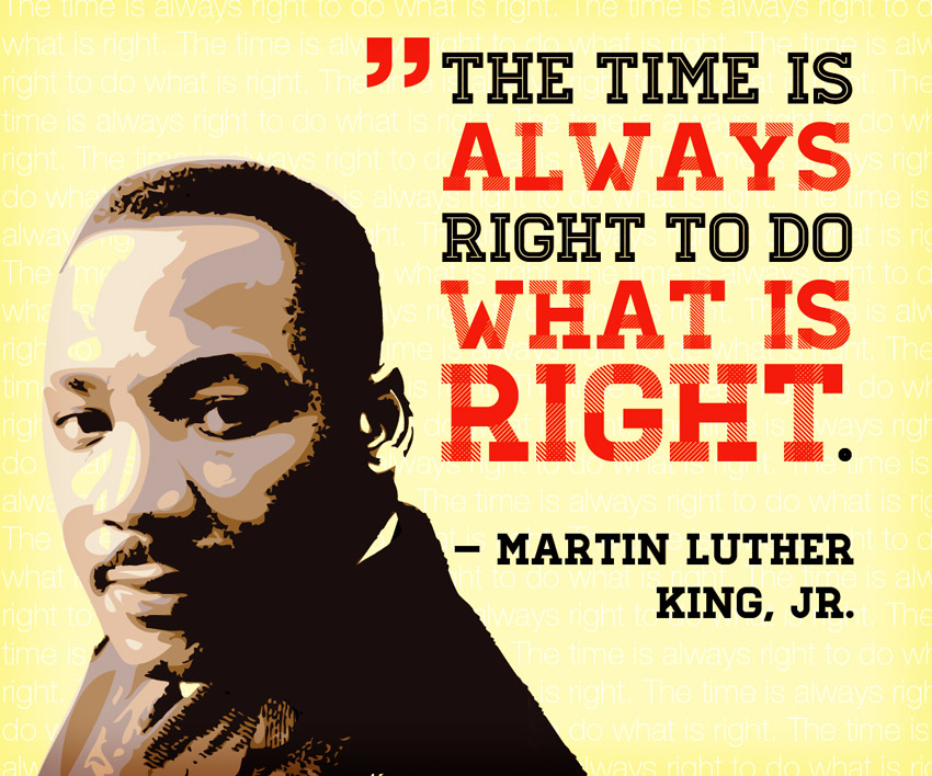 What Do Is Right Martin Luther King Quotes
